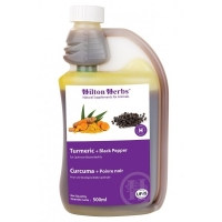 Hilton Herbs Turmeric + Black Pepper 500 ml